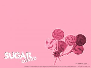 candy background template