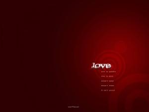 Valentine in Red